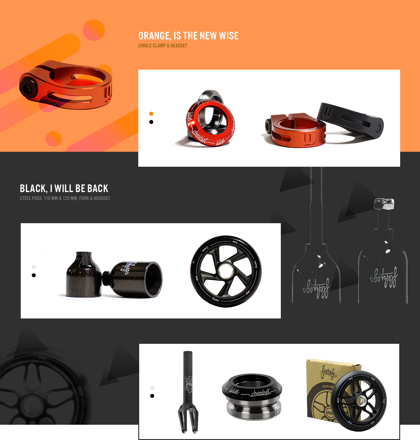 orange-black-color-wisescootering